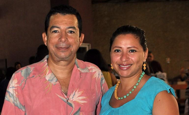 Jorge y Johanna Cisneros.