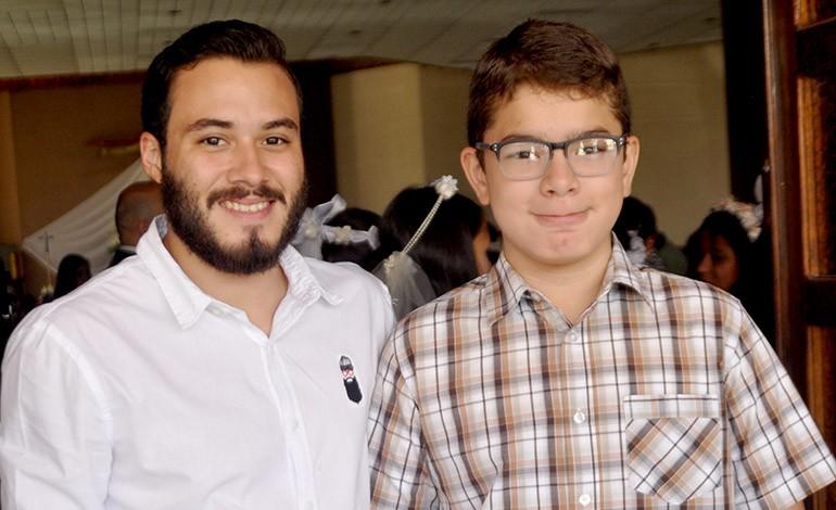 Luis enrique Zúniga y Fernando Saavedra.