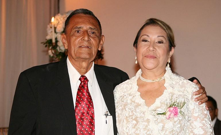 Joaquín Mejía y Lilian Zepeda.