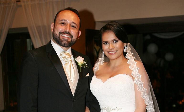 Rolando Mejía y Eleny Palma unidos en matrimonio