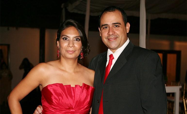 Alejandra y Mario Mejía.