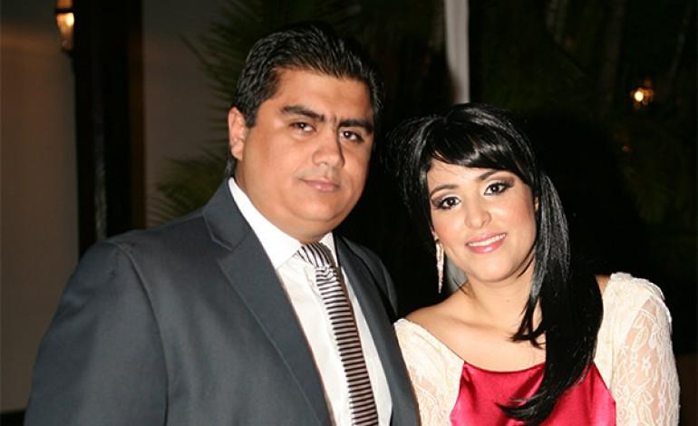 Olman Argueta y Roxana Rodríguez.