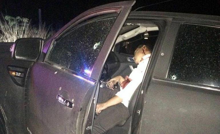 Acribillan abogado en una emboscada