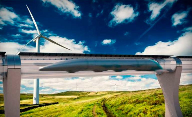 El tren que viaja a 1.100 kilómetros por hora aspira a funcionar en 2018