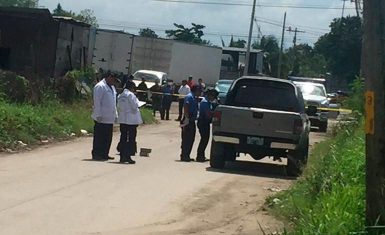 Acribillan a tiros a hombre dentro de su carro en San Pedro Sula