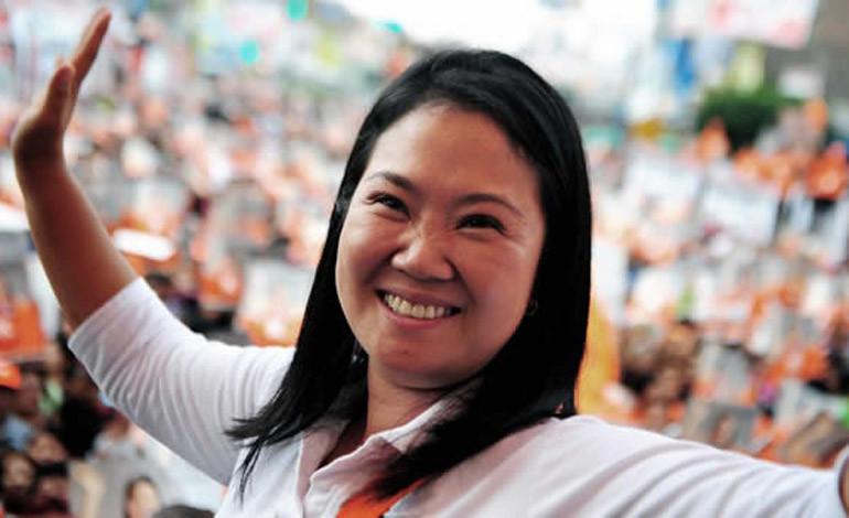 Fujimori gana con 39.46 %  de 66.82 actas escrutadas