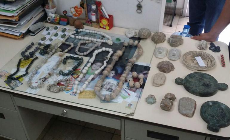 Investigan robo de 30 piezas en museo de Santa Cruz de Yojoa