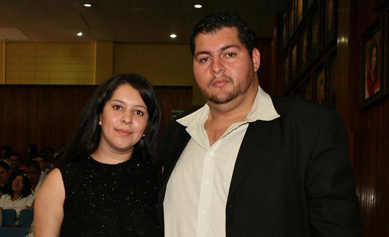 Jorge López y Carol Aceituno.