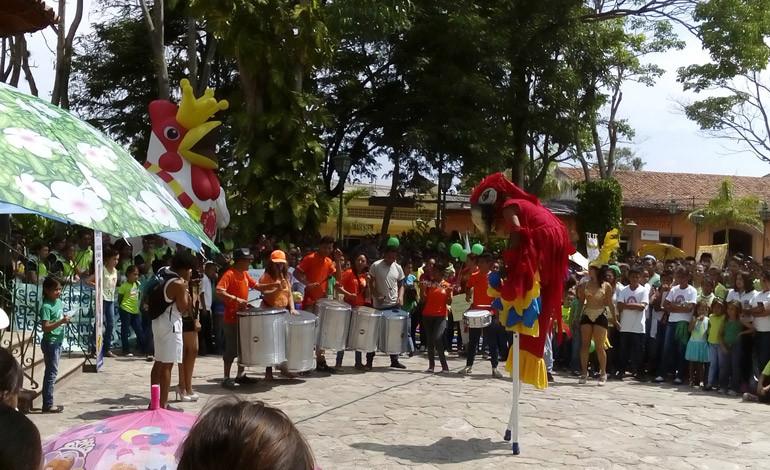 Festejan Semana del Medio Ambiente en Comayagua