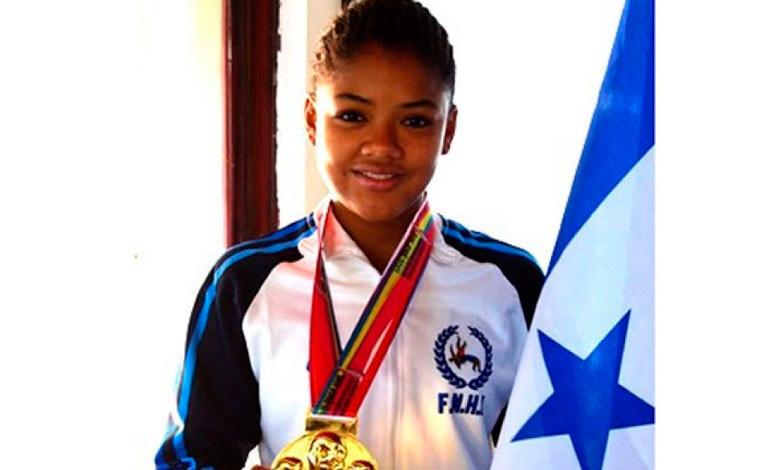 Luchadora hondureña Brenda Bailey invitada a los Juegos Olímpicos de Río