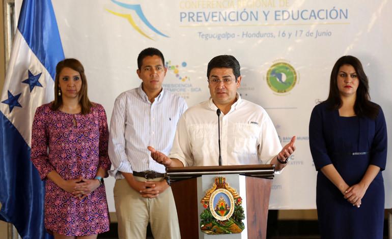Honduras será sede de la Conferencia Regional de Prevención y Educación