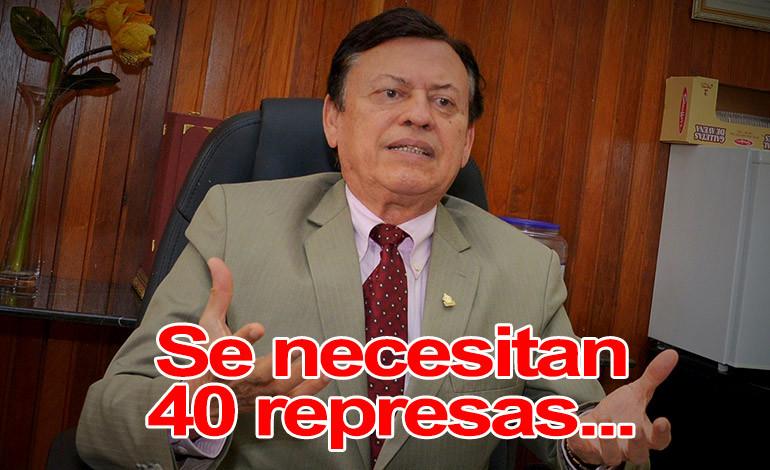 GASPAR OBANDO, PRESIDENTE DEL COLEGIO DE INGENIEROS