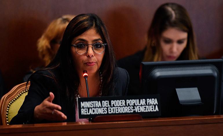 """Venezuela acusa a la OEA de """"respaldar"""" a opositores"""