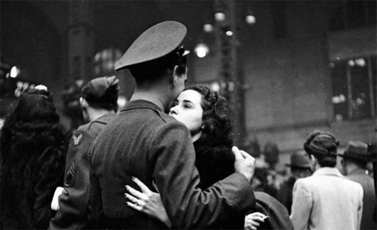 Otra dura despedida. 1943.
