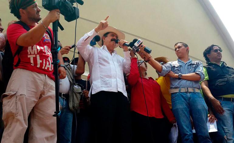 'Mel' Zelaya: Sin reformas no habrá elecciones