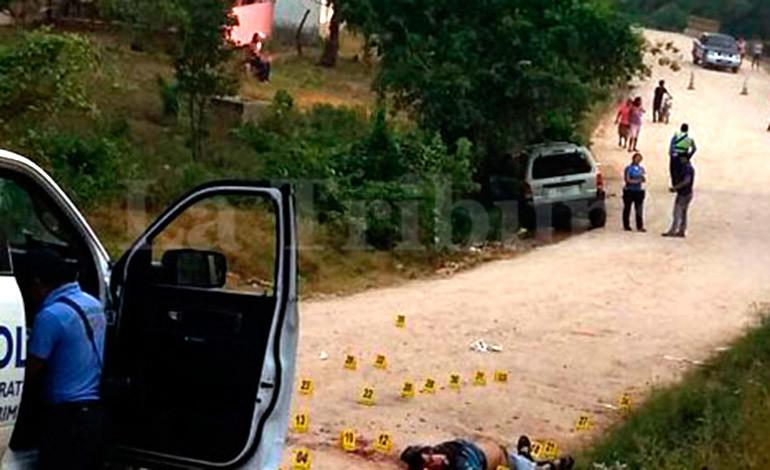 Matan dos amigos tras salir de fiesta en Cortés