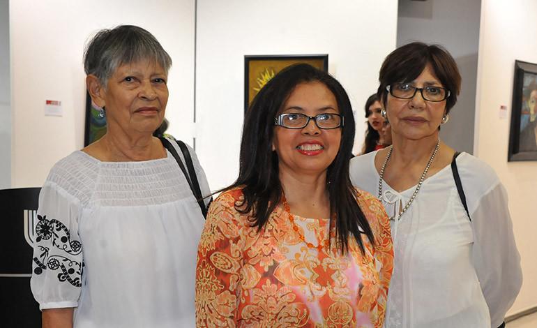 Adilia Méndez, Ana García, Vilma Ruth Méndez.