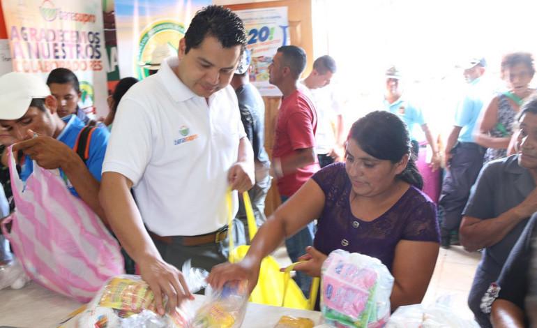 44 mil productos baratos adquirieron los pobladores