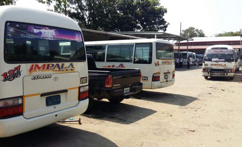 Empleados de Impala paralizan transporte ejecutivo por atentados
