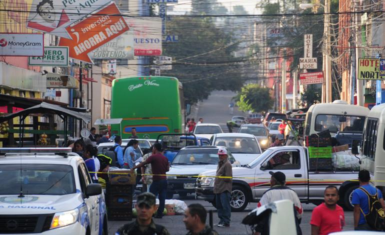 Extorsionadores abren fuego contra la Policía
