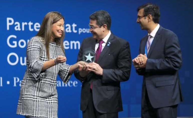 Honduras se alza con premio mundial por sus iniciativas de transparencia