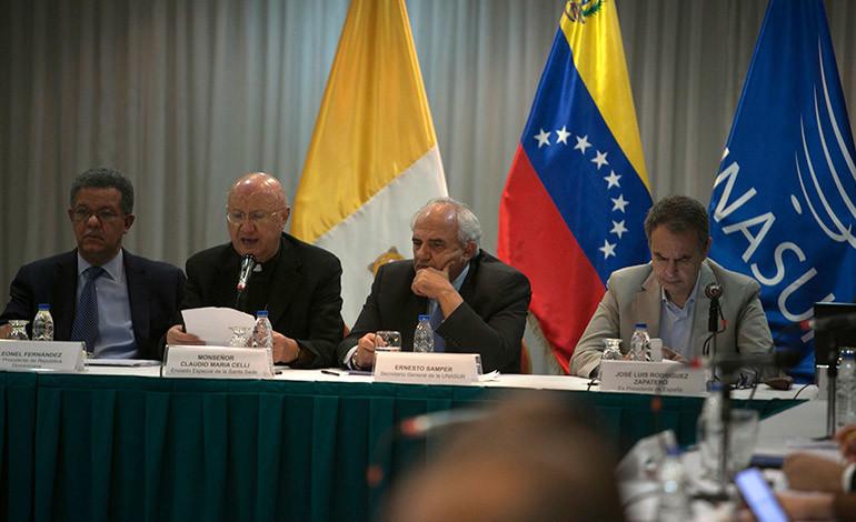 Venezuela seguirá diálogo
