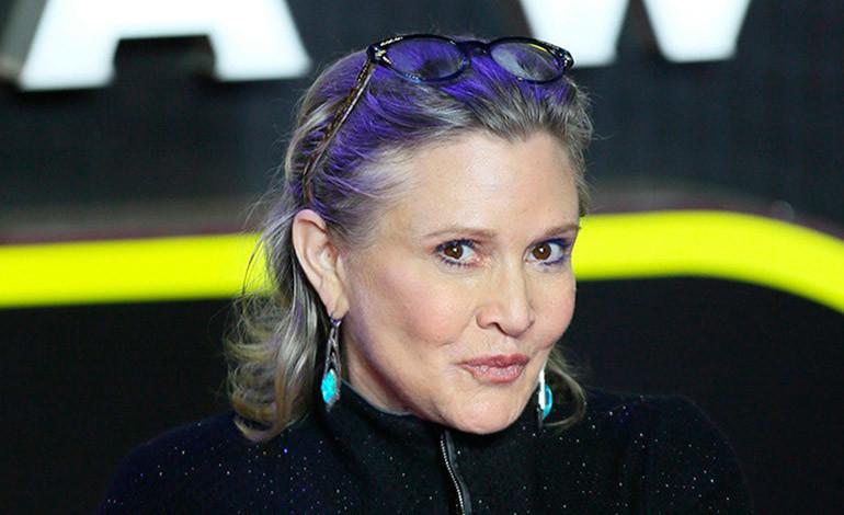 Fallece la actriz Carrie Fisher, la icónica princesa Leia de 'La guerra de las galaxias'