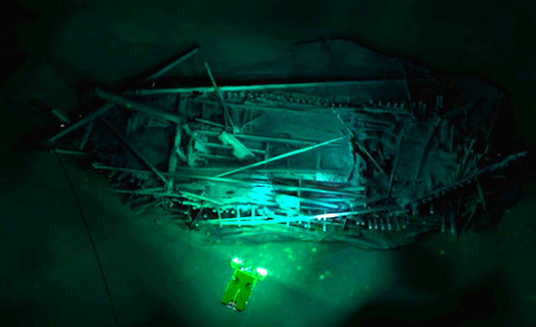¡Encuentran más de 40 naufragios en el Mar Negro prácticamente intactos!