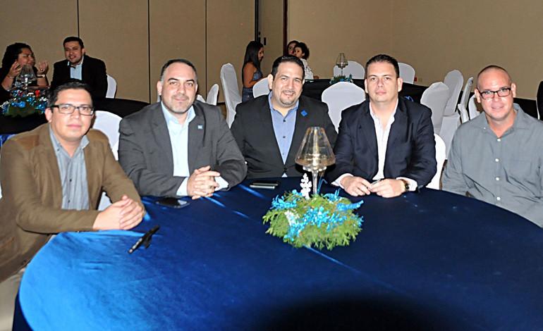 Roberto Ramírez, Jorge Fajardo, Jorge Handal, Guillermo Arriaga, Kester  Bodden, Claudio Maalouf