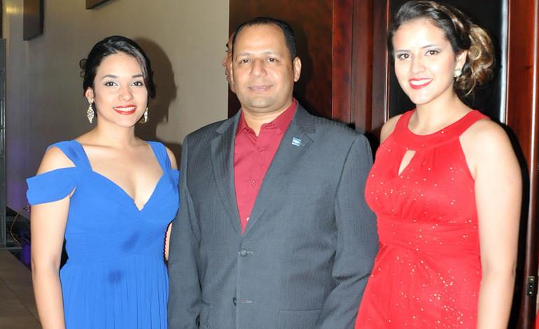 Waldina Elvir, Fernando Núñez, Amelia Hernández.