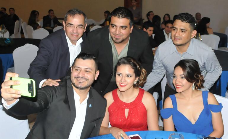 Damián García, Olvin Monterrey, Isaías Perdomo, Omar Artica, Amelia Hernández, Waldina Elvir.