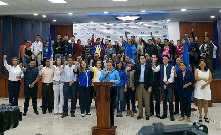 Partido Nacional defenderá candidatura de Juan Orlando Hernández