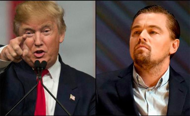 DiCaprio debate con Trump sobre creación de empleos gracias a las renovables