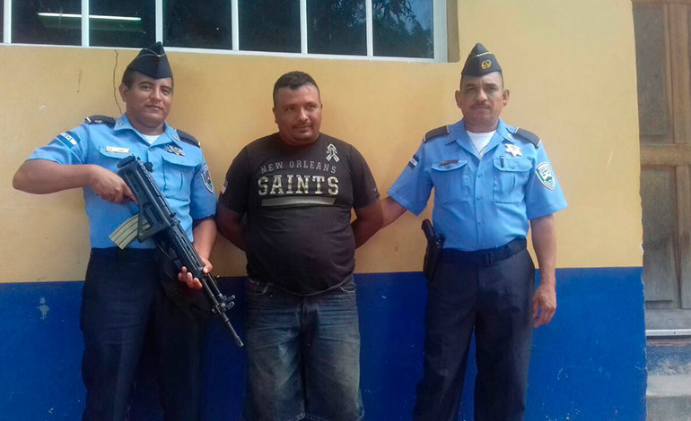 Capturan a hombre por facilitar transporte para drogas en Choluteca