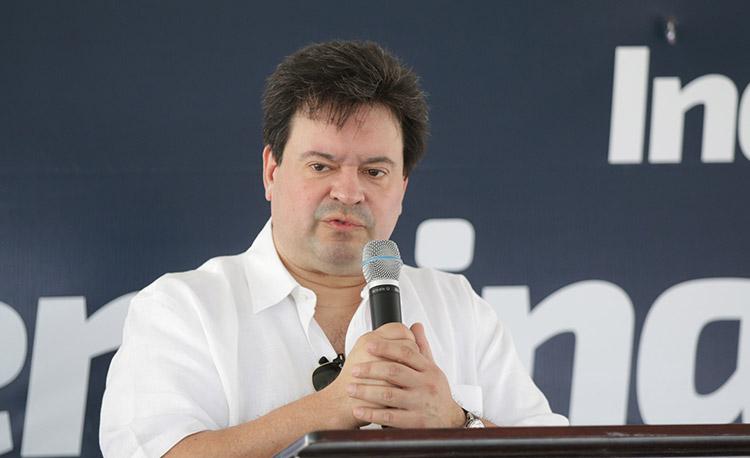 Guillermo Bueso, presidente del Banco Atlántida.