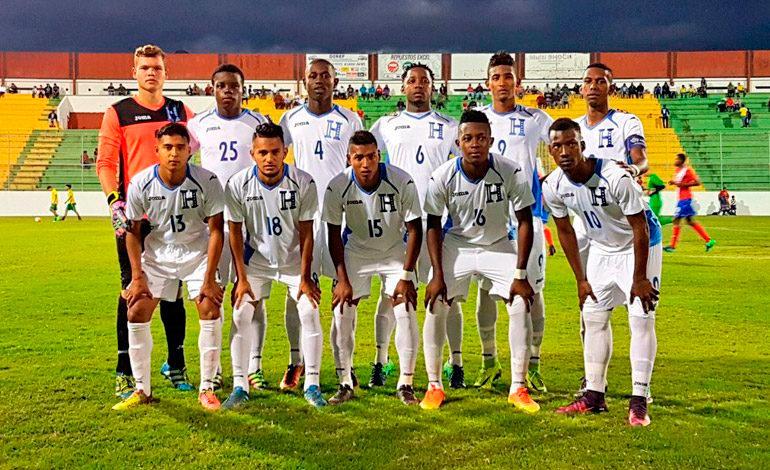 Sub-20 de Honduras derrota a Costa Rica en partido amistoso