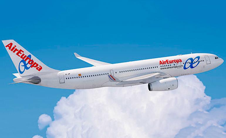 Air Europa confía en aumentar vuelos a Honduras