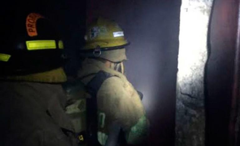 Incendio consume casa en Choloma