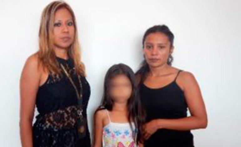 Rescatan en México a menor hondureña reportada como extraviada