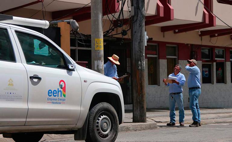 EEH anuncia suspensión de la electricidad en distintas colonias