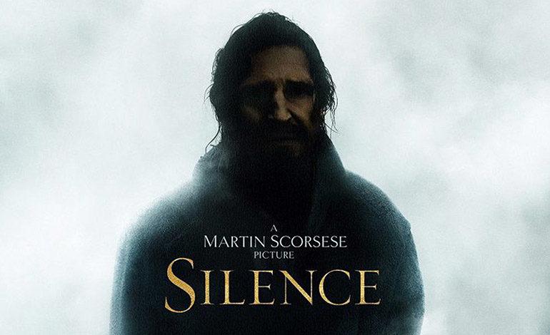 """Imagen del cartel de la película de Martin Socorsese """"Silence"""" que cuenta la historia de los primeros cristianos en Japón."""