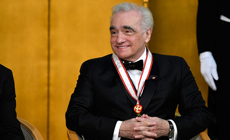 El director de cine Martin Scorsese sonríe durante la ceremonia de los Praemium Imperiale en Tokio (Japón) en octubre de 2016. Cada año, desde 1989, la Asociación de las Artes de Japón entrega estos premios en cinco categorías: pintura, escultura, música, arquitectura y cine y teatro. EFE/Franck Robichon