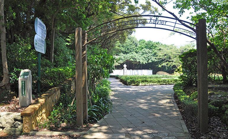 El parque conmemorativo a Francisco Xavier en la ciudad de Hirado, Nagasaki, donde vivían muchos cristianos ocultos. Francisco Xavier trajo el cristianimos a Japón en 1549 y visitó tres veces a Hirado, en el norte de Nagasaki. Foto: Yoko Kaneko