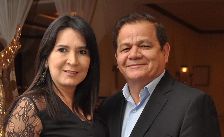 Liz y Romeo Vásquez.