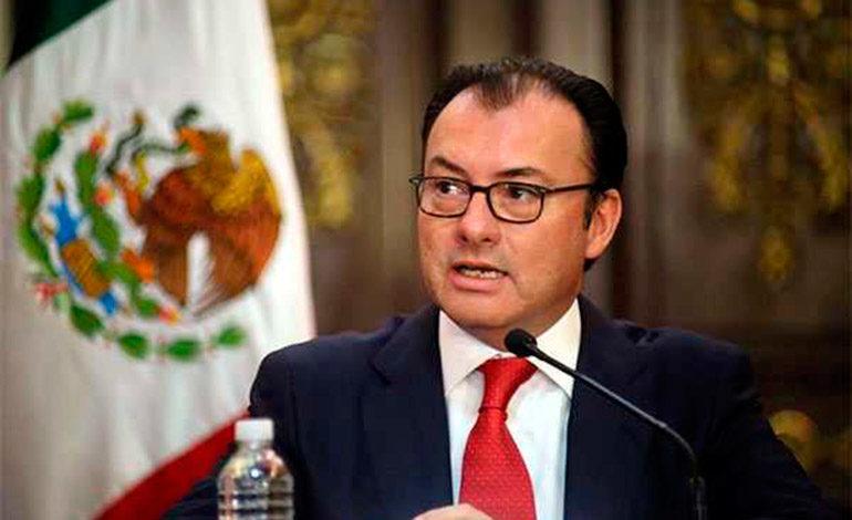El canciller mexicano viaja a Nueva York para reunirse con Guterres