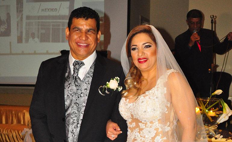 Luis Sánchez y Dolis Godoy contraen matrimonio