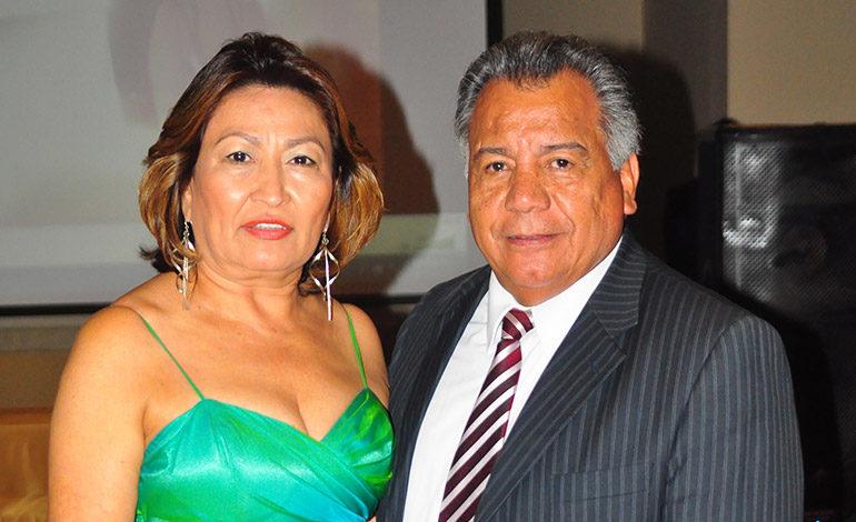 Marcia y Daniel Vásquez.