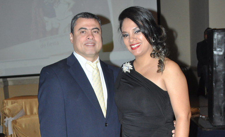 Sonia Ponce y Ángel Pavón.