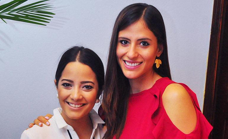 Mariandrea Teixeira Duarte y Ana Méndez.