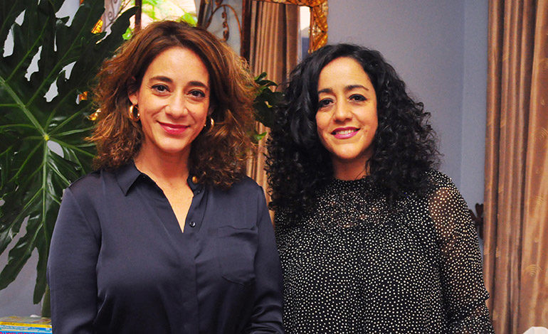 Ana Carolina y Liliana Villeda.